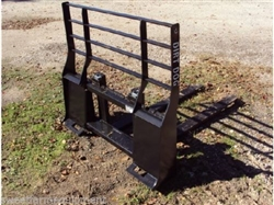 New Dirt Dog Mfg. Pallet Forks for Skid Steer Quick Attach